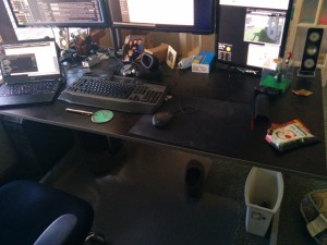 75% clean workspace